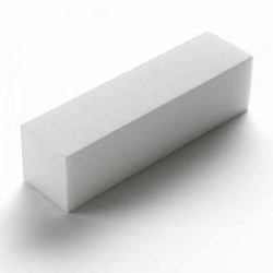 White Sanding Block 200g single
