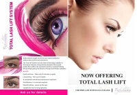 lash Lift Advertising Leaflets 50 Pk