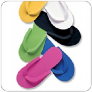 Pedicure Slippers Multipack - 6 Colours