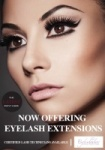 Eyelash Extension Poster A3 Advertising